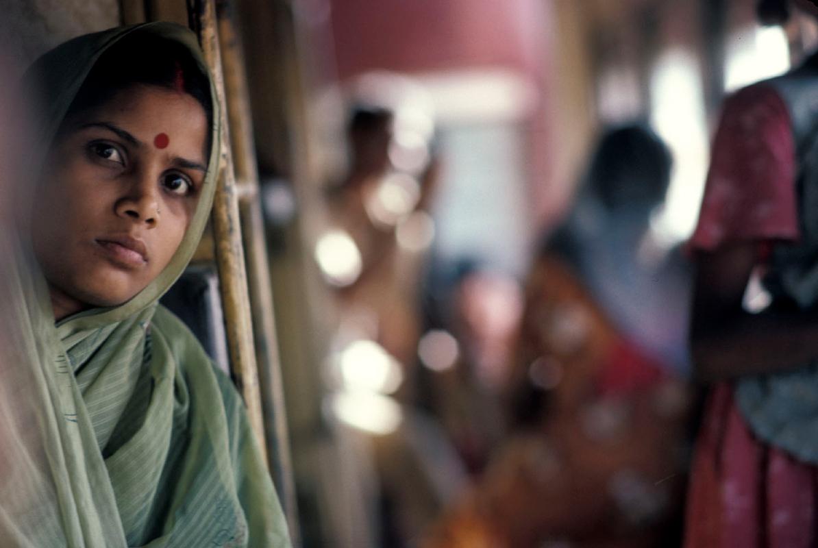 india-vrouw-in-trein