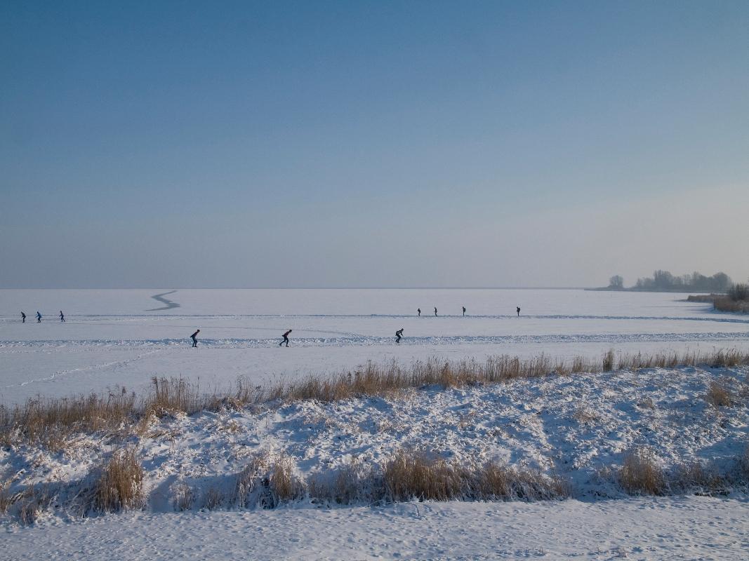 Nederland, Gouwzee 20 december 2010