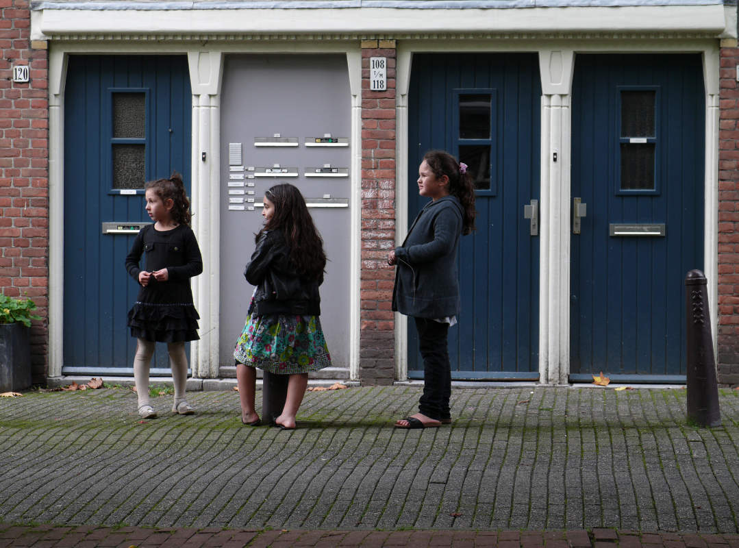 Nederland, Amsterdam 2 november 2010Barentzstraat en plein zonder naamFoto: Marijke Bresser/ Hollandse Hoogte