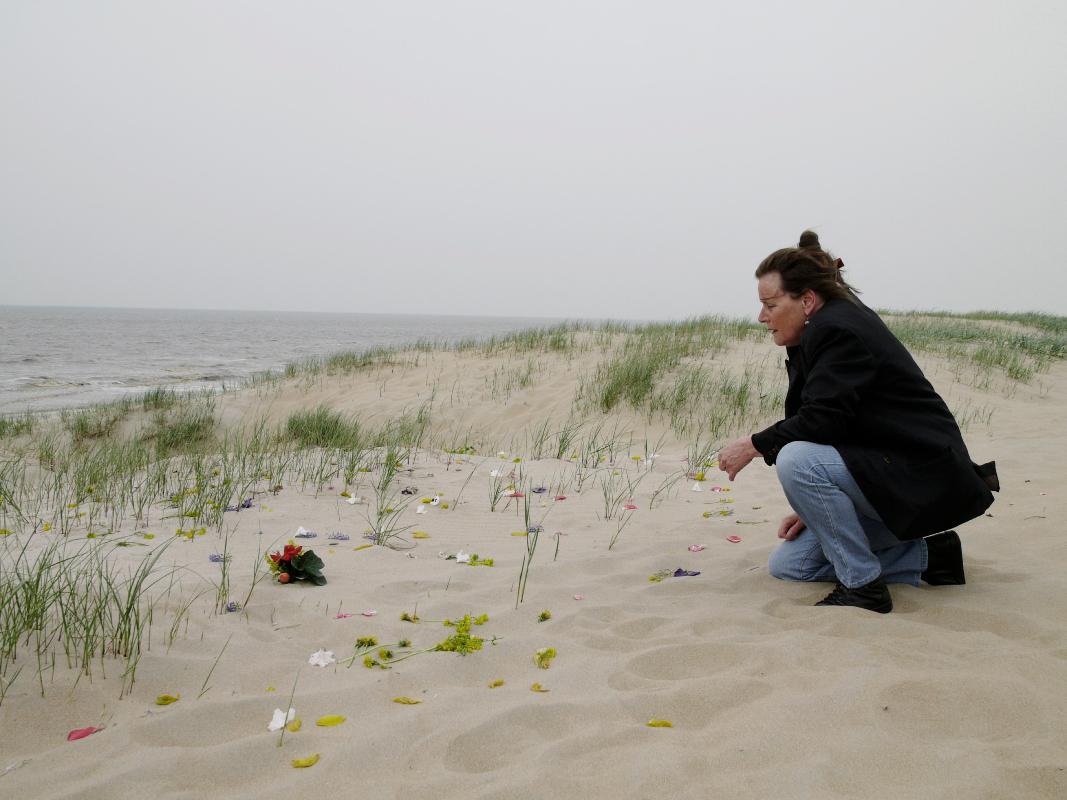 Nederland , Wassenaar 25 april 2009Asverstrooing en verjaardag Ma. Familie reunie.Foto: Marijke Bresser/ Hollandse Hoogte