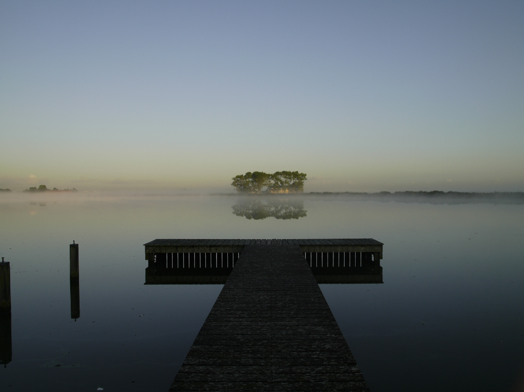 Nederland, Uitdammerdie 9 oktober 2008Ochtendnevel in Uitdam, Waterland.Foto: Marijke Bresser/ Hollandse hoogte